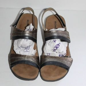 Romika sandals Women 39 US 9 Comfy leather